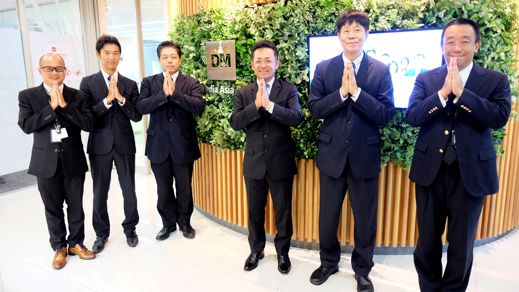 Digital Media Asia Pacific Ltd. held a merit-making ceremony on March 9, 2018.